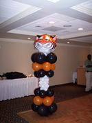 This Tiger will make your guest want to Dance and have a ROARING good time.